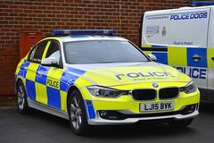 LJ15 BVK (S11 AUN) Tags: northumbria police bmw 330d 3series xdrive saloon anpr traffic car roads policing unit rpu motor patrols 999 emergency vehicle lj15bvk