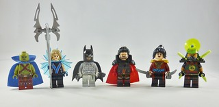 Tailor-Verse Justice League