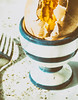 A Split Boiled Egg In A Blue & White Egg Cup With A Fork ! (Peter Greenway) Tags: edgy eggcup notright split flickr plate disturbing domestic breakfast bluewhite domesticdisturbance cracked egg fork