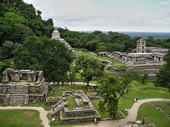 Maya Site in Palenque (W@nderluster) Tags: chiapas palenque jungle maya mexico travel green messico giungla viaggi stones exploring monument history ruins holiday