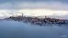 Corridonia (MC) (Luigi Alesi) Tags: corridonia marche italia italy macerata città paese nebbia fog mist misty foggy paesaggio landscape scenery city nikon d7100 raw tamron sp 70300