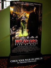 Dylan Dog Poster Movie AD 5631 (Brechtbug) Tags: dylan dog poster movie ad mythology italian comics comic books film billboard advertisement transportation theatre holiday ornaments 42nd street amc new york city 04132011 nyc super hero monsters zombies zombie creature brandon routh sam huntington 2011