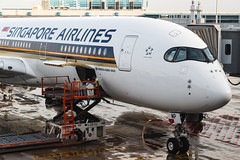 SINGAPORE AIRLINES A350-900XWB 9V-SMP 002 (A.S. Kevin N.V.M.M. Chung) Tags: aviation aeroplane aircraft airport airbus plane spotting airside gate singapore airlines changi a350900xwb a350 closeup