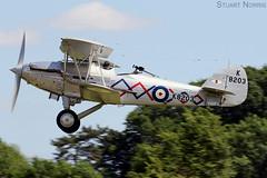 Hawker Demon K8203 G-BTVE - Demon Displays Ltd (stu norris) Tags: hawkerdemon k8203 gbtve demondisplaysltd hawker biplane shuttleworthcollectionmilitarypageant2017 oldwarden airshow aviation warbird vintage