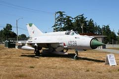 4038 MiG-21MF-75 Czech Air Force (ChrisChen76) Tags: comox mig21mf75 mig21 czaf czechairforce czechrepublic