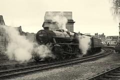 44871 (feroequineologist) Tags: 44871 black5 5 lms worthvalleyrailway kwvr worthvalley railway train steam