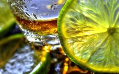 Macro Mondays - citrus (DeZ - photolores) Tags: macro macromondays macromondayscitrus limes shotglass hdr nikon nikond610 tamron90mmf28 design dez bokeh