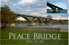 Postcrossing US-5180492 (booboo_babies) Tags: bridge buffalo newyork buffalonewyork peacebridge postcrossing