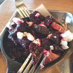 Roasted Beets (Let Ideas Compete) Tags: food roastedbeets fork