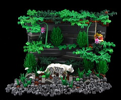 Exploring Celestia - The White Tiger (Ayrlego) Tags: lego brethrenofthebrickseas bobs whitetiger celestia challengeieraii sirdirkallcock