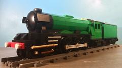 Flying Scotsman: Bit bright for BR? (TheBricksmith) Tags: creation afol build moc engine train steam flyingscotsman scotsman flying lego