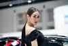 Woman In Black (Chula Amonjanyaporn) Tags: จุฬา อมรจรรยาภรณ์ sony ilce7rm2 thailand bangkok chula amonjanyaporn nice beauty beautiful pretty motorshow expo