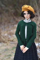 Waiting for the cold IV (hoe-nir) Tags: bluemagpie lalegendedetemps bjd doll