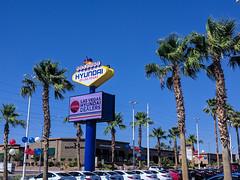 Welcome to Fabulous Hyundai Las Vegas!!! (BeerAndLoathing) Tags: summer nevada usa android roadtrip trips lasvegas californiatrip googleandroid july nexus6p 2016 google unitedstates us