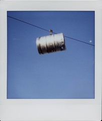 Keg on a Cable (James Feller) Tags: lomoinstantsquare instax square beeerkeg