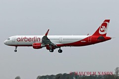 A321-211 OE-IFX ex D-ABCT AIR BERLIN colours (shanairpic) Tags: jetairliner a321 airbusa321 shannon airberlin dabct oeifx ccbeq latam