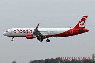 A321-211 OE-IFX ex D-ABCT AIR BERLIN colours