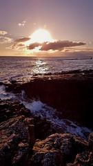 Craster, Northumberland (mandysp8) Tags: winter ocean sea uk rocks sunrise sunset waves alnwick nationaltrust