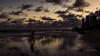 Beach - walking (Enio Godoy - www.picturecumlux.com.br) Tags: seasunset 16x9 beach g15 niksoftware viveza2218139168107313 reflex brazil reflections walking sky canon recifepe canong15 clouds