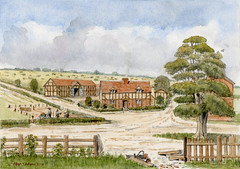 House and farm at Broom Close, Clophill, Bedfordshire, 1690