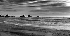 Offshore Rocks _ bw (Joe Josephs: 3,166,284 views - thank you) Tags: bigsur california californiacoast californialandscape pacificcoasthighway pacificocean travel travelphotography westcoast scenic ocean beach californiabeach landscape bw blackandwhite blackandwhitephotography monochrome