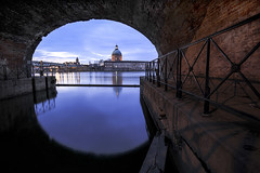 La grave - Toulouse (PhotoNic31) Tags: tolosa garonne grave toulouse eau reflet reflect