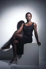 Priscilla - Rome (Ps) (deste64) Tags: model bodybulding nikon studio onelight darkskin beauty