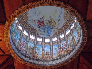 Rituals. Cupola, Cathedral of the Immaculate Conception, Apia, 'Upolu, Samoa