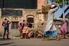 Morning | Kolkata (SaumalyaGhosh.com) Tags: kolkata morning bath bathing people manatwork color colors water roadside roadsidebathing wall action street streetphotography india xt2 fuji