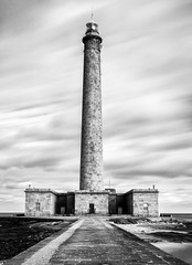 Gatteville lighthouse - Gatteville-le-Phare (The Black Fury) Tags: lighthouse architecture blackandwhite bw longexposure poselongue normandie france seascape sea water old