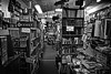 Happiness Is... (arbyreed) Tags: arbyreed smileonsaturday book books reading happinessis usedbookstore bookstore monochrome bw blackandwhite