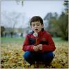 Autumn Portrait (Koprek) Tags: rolleiflex28f kodak portra 160 portrait november 2017 croatia autumn