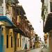 Balconies Lining Cartagena Streets, Colombia