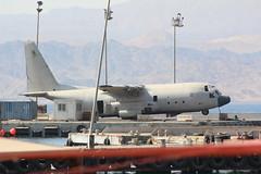 Lockheed C-130 Hercules will sleep with the fishes (zed77) Tags: jordan aqaba c130 lockheed hercules