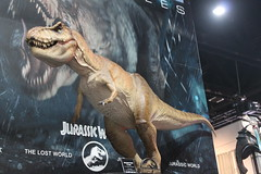 2017-Jurassic Park T-Rex Statues by Chronicle Collectibles at SDCC-01 (David Cummings62) Tags: sandiego ca calif california comiccon con david dave cummings 2017 statue jurassicpark movie movies dinosuars dinosuar chroniclecollectibles trex