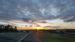 Pôr do Sol (clodo.lima) Tags: sunset pordosol rodovia cwb curitiba beleza espetaculo