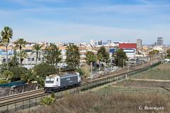 Waiting (ɢ. ʙᴇʀᴇɴɢᴜᴇʀ [ ō-]) Tags: traxx 253 253087 massanassa railway railroad renfe mercancías aislada locomotive ffcc city