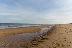Beach sand (lilredlizzie) Tags: massachusetts newengland newburyport beautiful pretty beach sand outdoors outside travel canon landscape canon6d sky clouds nature naturelovers artgrowninnature amazing winter weather season ocean water