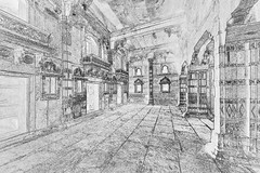 India - Uttar Pradesh - Fathepur Sikri - Shabistan-I-Iqbal (Jodhbai´s Palace) - 4c (asienman) Tags: india uttarpradesh fathepursikri shabistaniiqbal jodhbai´spalace asienmanphotography asienmanphotoart