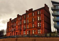Sandstone and Proud (Billy McDonald) Tags: hdr glasgow sandstone tenements springburnroad springburn windows samsunggalaxys7edge