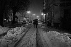 Nocturno in the Snow (Koprek) Tags: nocturno low light night snow croatia ricoh gr 2018 varaždin