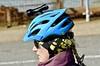 Headlight (Hodd1350) Tags: poole dorset sandbanks chainferry woman female helmet blue pigtail cyclehelmet sony sonylens sonyfe70300 a7rll