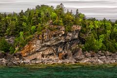 Northern Niagara Escarpment II (RG Rutkay) Tags: 2016 brucepeninsula tdpc outdoor landscape niagaraescarpment nationalpark seascape georgianbay rocksandtrees
