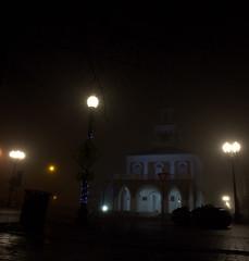 _MG_3242.CR2 (jalexartis) Tags: fayetteville fayettevillenc fayettevillenorthcarolina fog foggy foggymorning downtownfayetteville downtown markethouse
