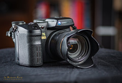 One of my favorite cameras from the Minolta legacy (m3dborg) Tags: konica minolta dimage a2 camera compact produkt product photography zoom lens 28200 closeup image stabilization black beauty beautiful equipment