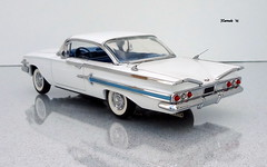 1960 Chevrolet Impala Hardtop Sport Coupe (JCarnutz) Tags: 124scale diecast franklinmint 1960 chevrolet impala