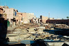 Marrakech Tannery 4 (AnniversaryRoad) Tags: 135 35mm 400 400asa 400iso 50mm africa arab kodak kodakportra leica leicam6 leitz m6 maghreb marrakech marrakesh moroccan morocco portra portra400 summicron analog analogphotography analogue color colour desert film filmgrain filmphotography labor labour leather medina morning offthebeatenpath outdoor outdoors outside rangefinder sky smell souk souq street streetphotography tanner tanneries tanners tannery traditional workers