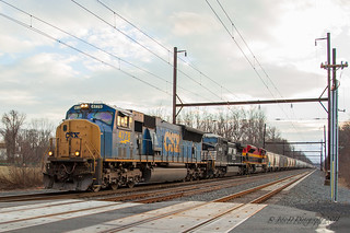 CSXT Q410 @ Yardley, PA