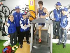 David Huertas triatlón Indoor team clavería triatlón World 8