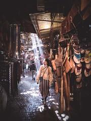 (thombe77) Tags: marrakesch marrakech souks souk light beam marroko morroco